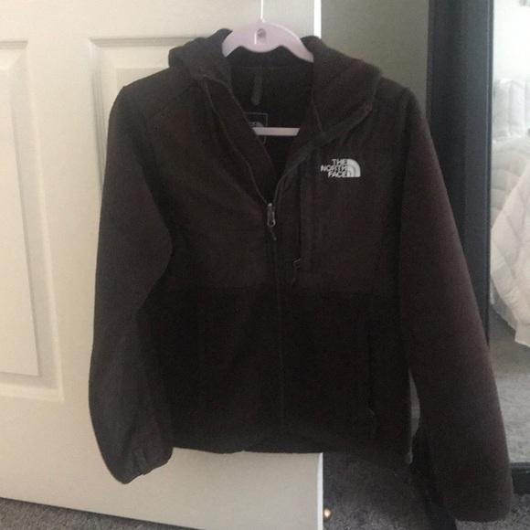 64fe2a9a2 Chocolate brown North Face Denali Jacket